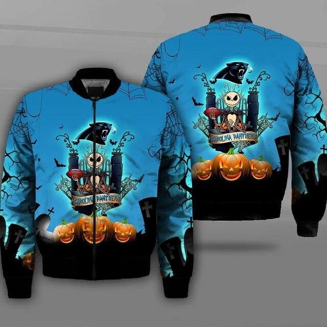 Carolina Panthers bomber jacket 5