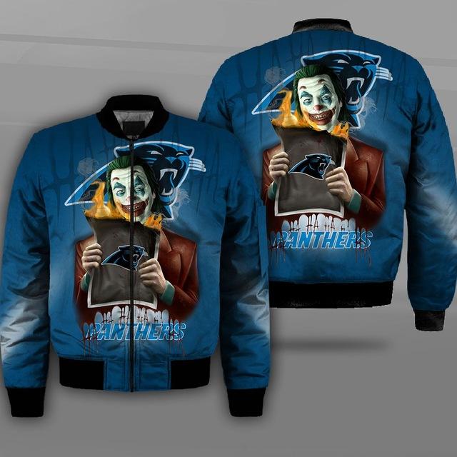 Carolina Panthers bomber jacket 4