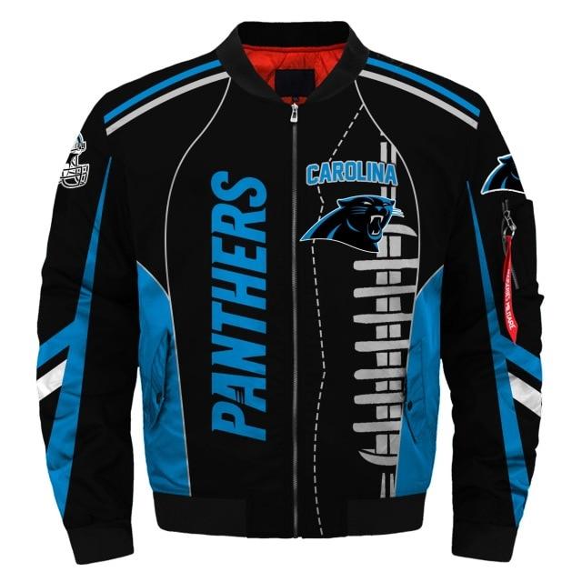 Carolina Panthers bomber jacket 2