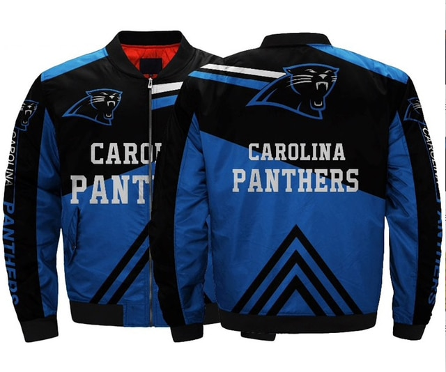 Carolina Panthers bomber jacket 1