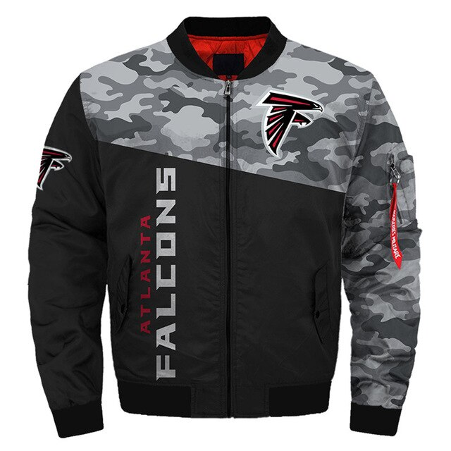 Atlanta Falcons bomber jacket 01