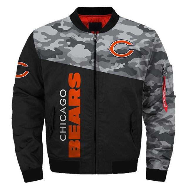 Chicago Bears bomber jacket 4