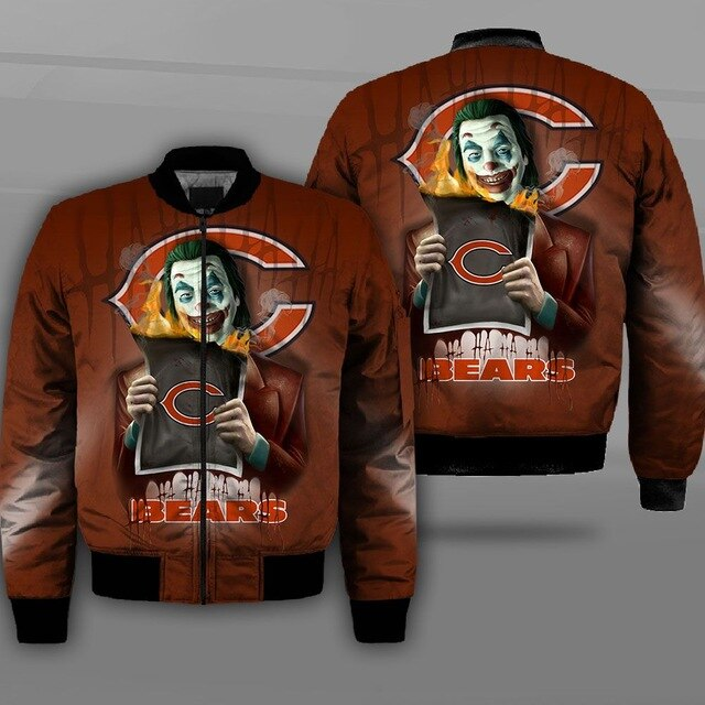 Chicago Bears bomber jacket