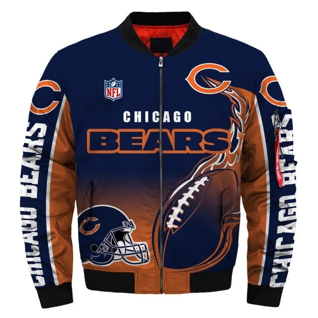 Chicago Bears bomber jacket 5
