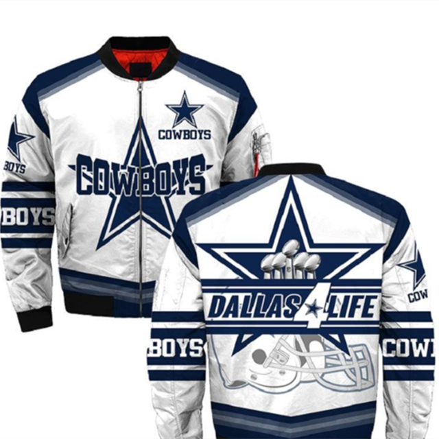 Dallas Cowboys bomber jacket 05