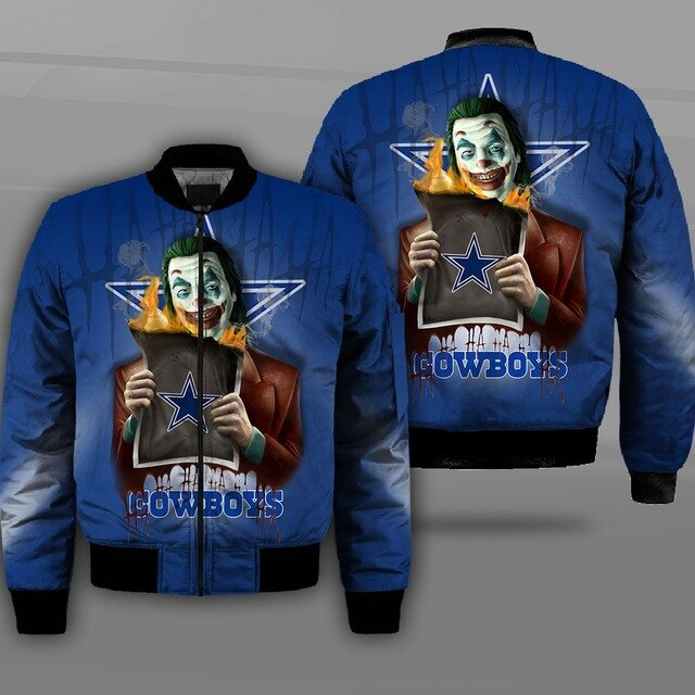 Dallas Cowboys bomber jacket 07