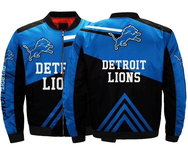Detroit Lions bomber jacket 1ariations