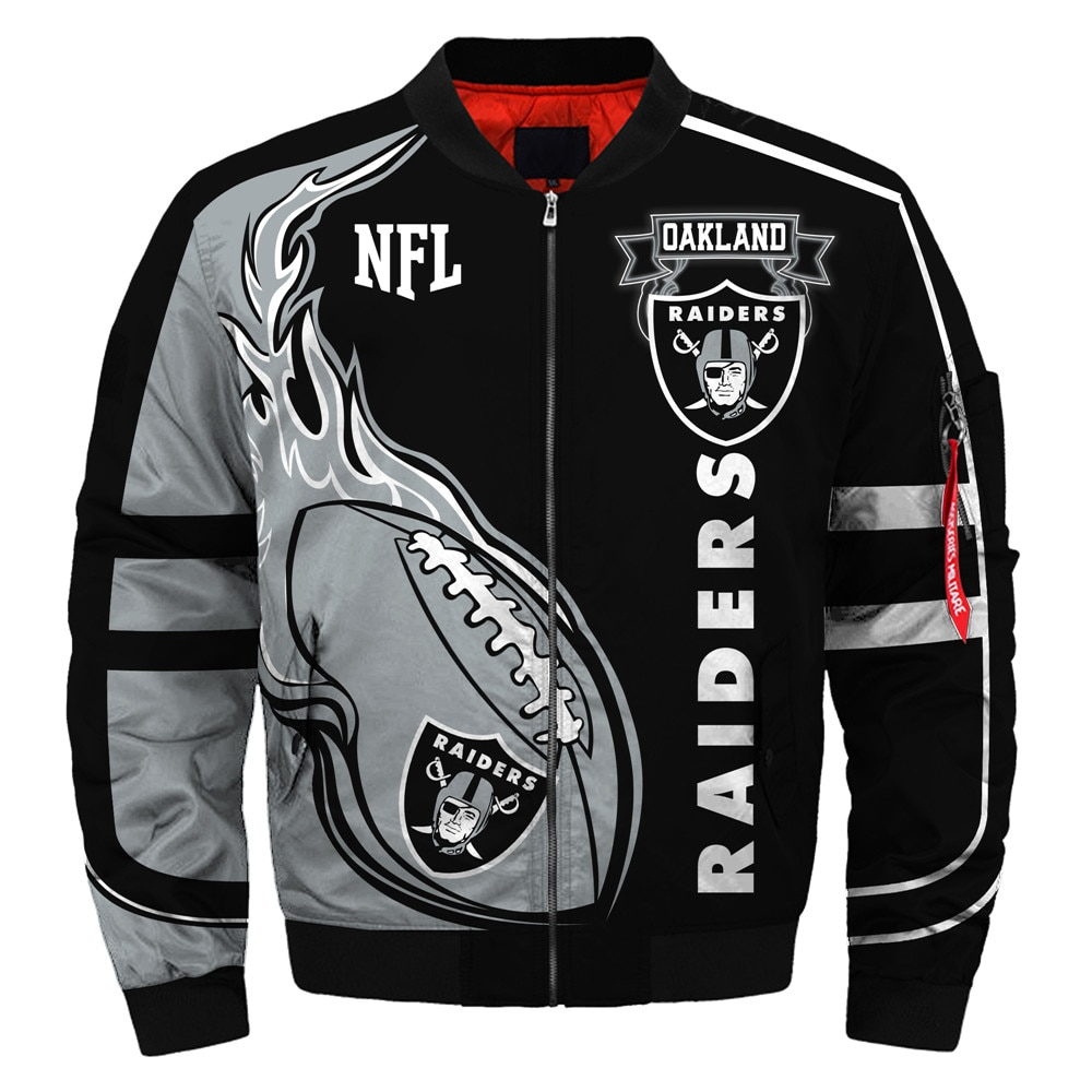 Oakland Raiders bomber jacket