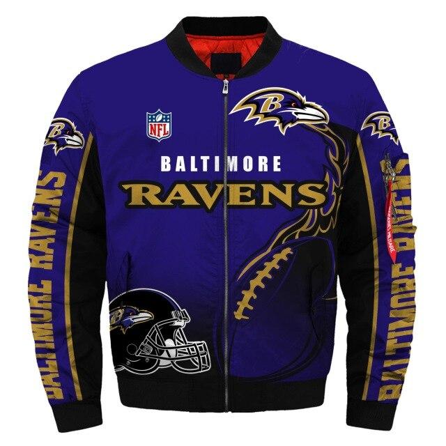 Baltimore Ravens bomber jacket1