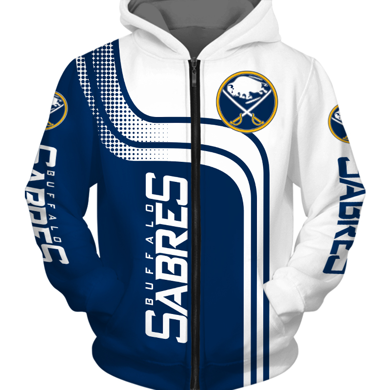 Buffalo Sabres Zipper Hoodie-