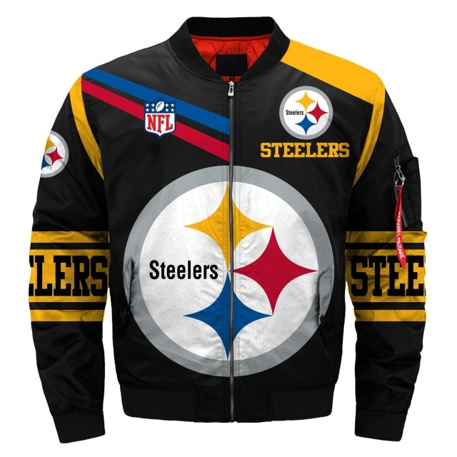 Pittsburgh Steelers bomber jacket