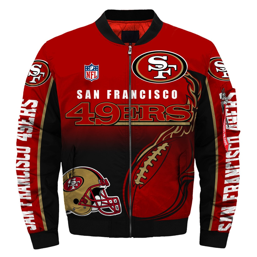 San Francisco 49ers bomber jacket
