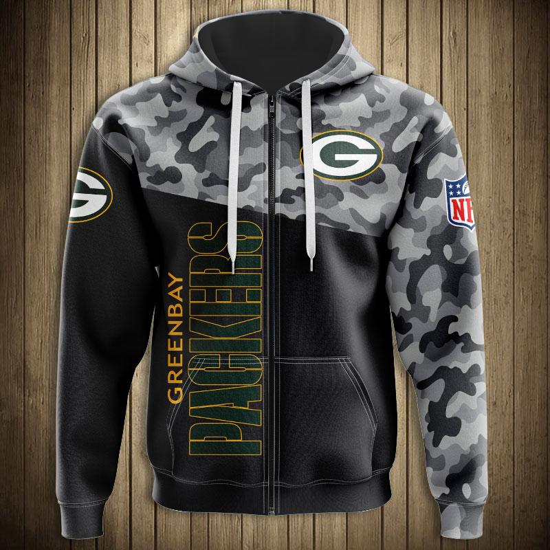 Green Bay Packers Zip Hoodie