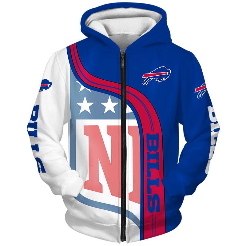 Buffalo Bills Zip Hoodie
