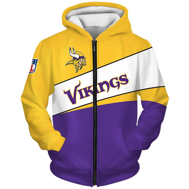 Minnesota Vikings-Zip-Hoodie