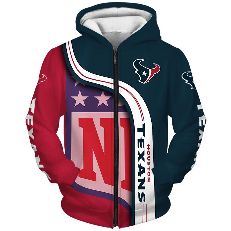 Houston Texans Zip Hoodie