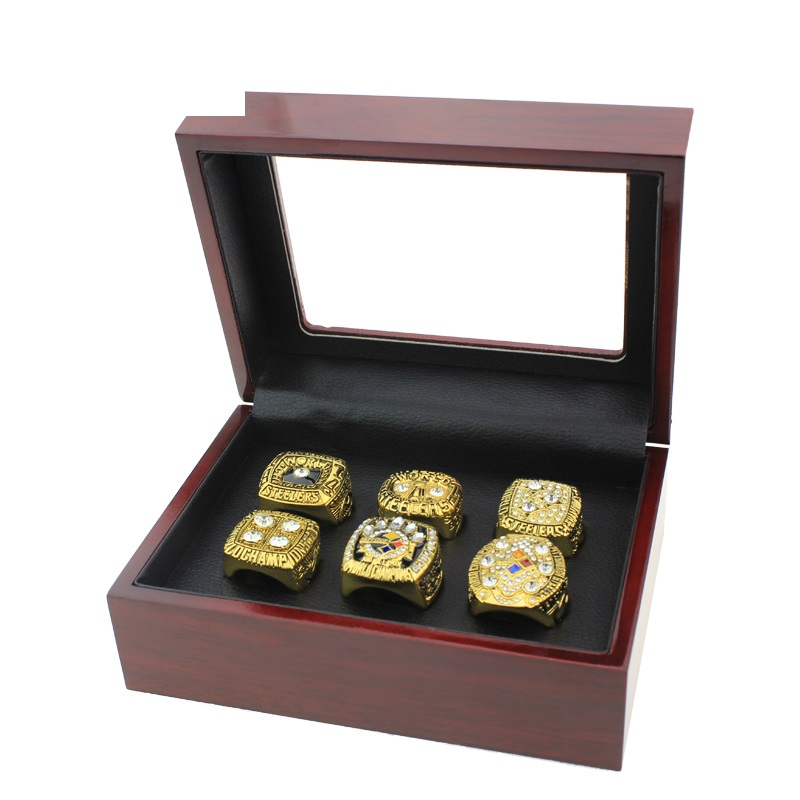 Pittsburgh steelers ring Gold