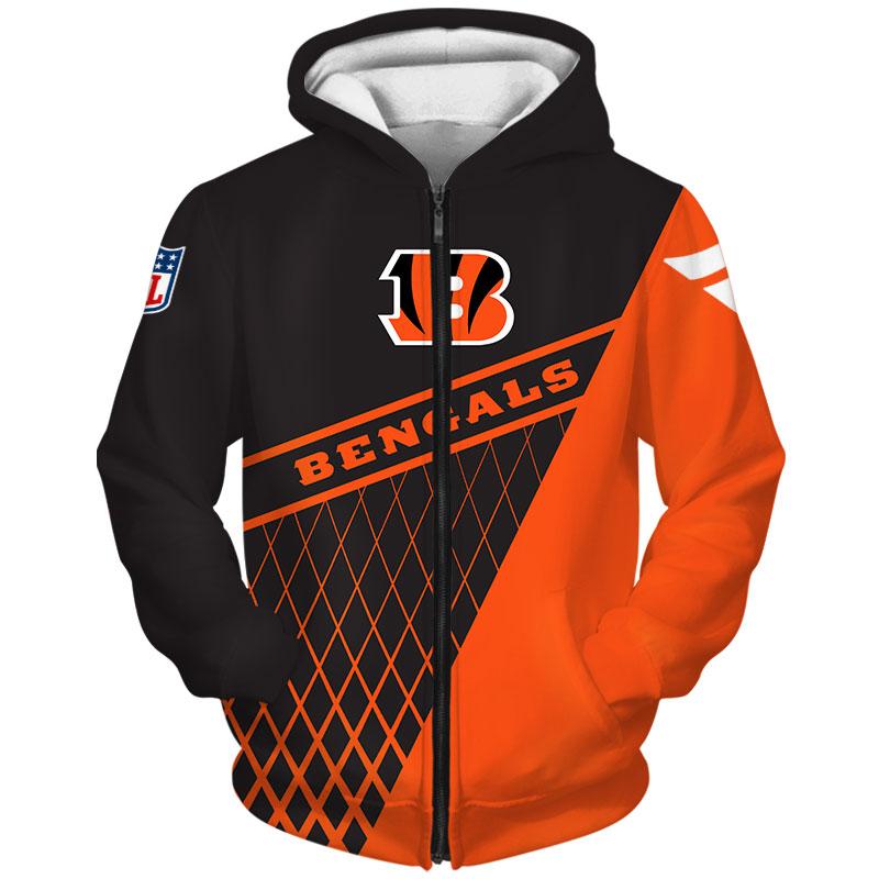 Cincinnati Bengals -Zip-Hoodie
