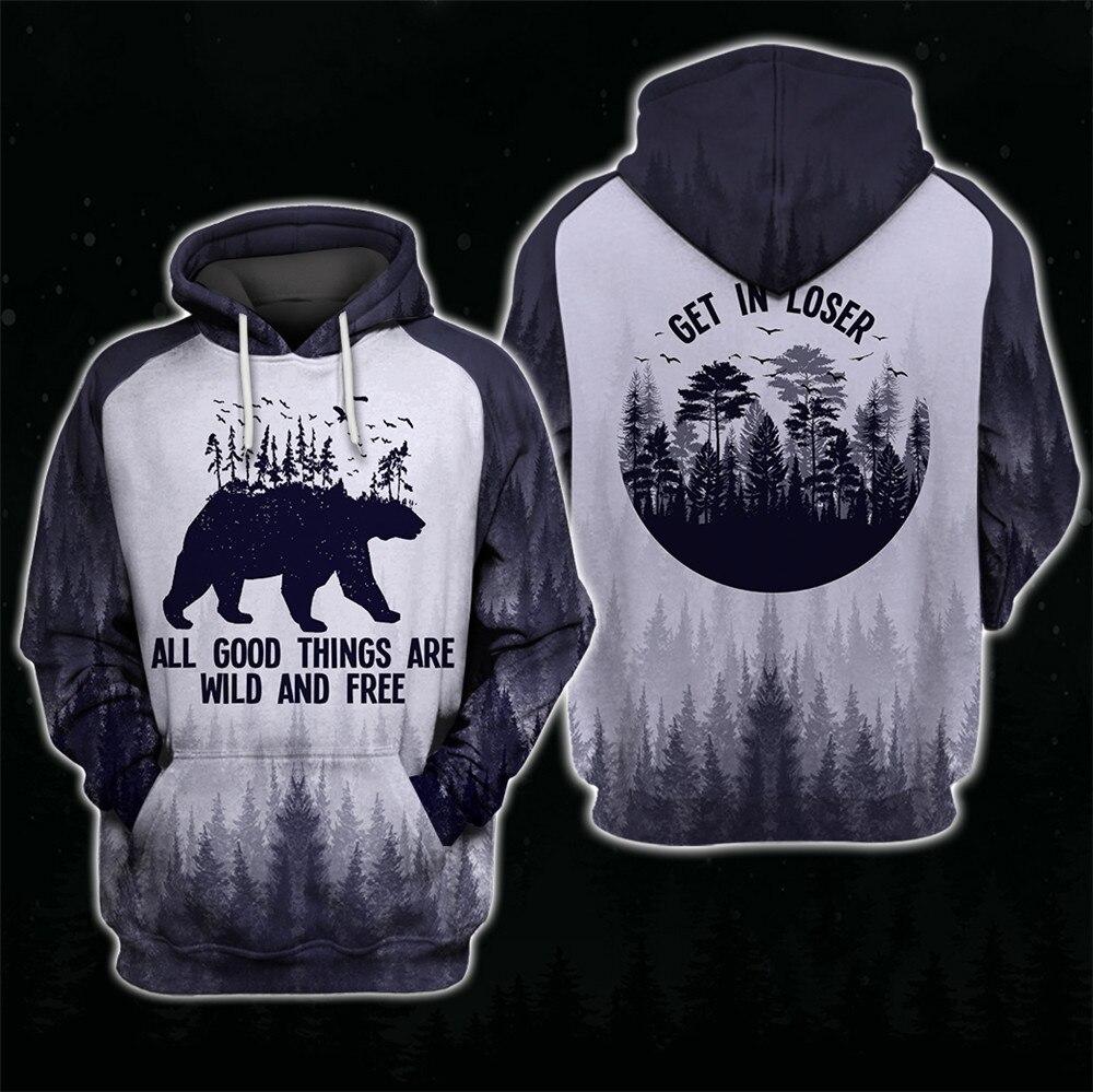 hoodie bear