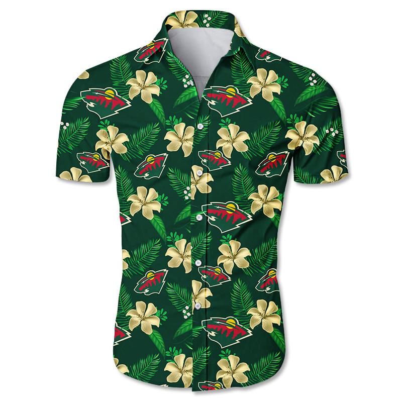 Minnesota Wild Hawaiian shirts