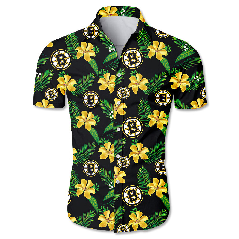Boston Bruins Hawaiian shirts