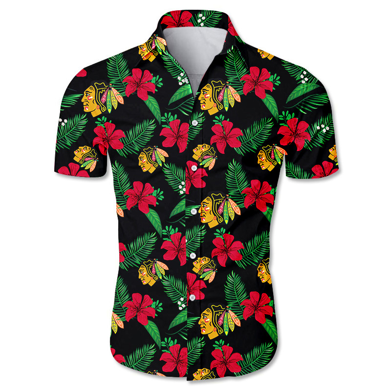 Chicago Blackhawks Hawaiian Shirts