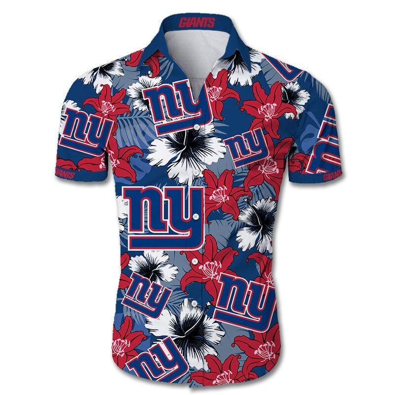 New York Giants Hawaiian Shirt