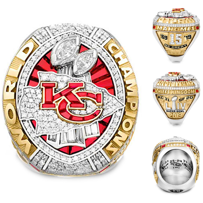 Kansas City Chiefs Super Bowl Ring 2020