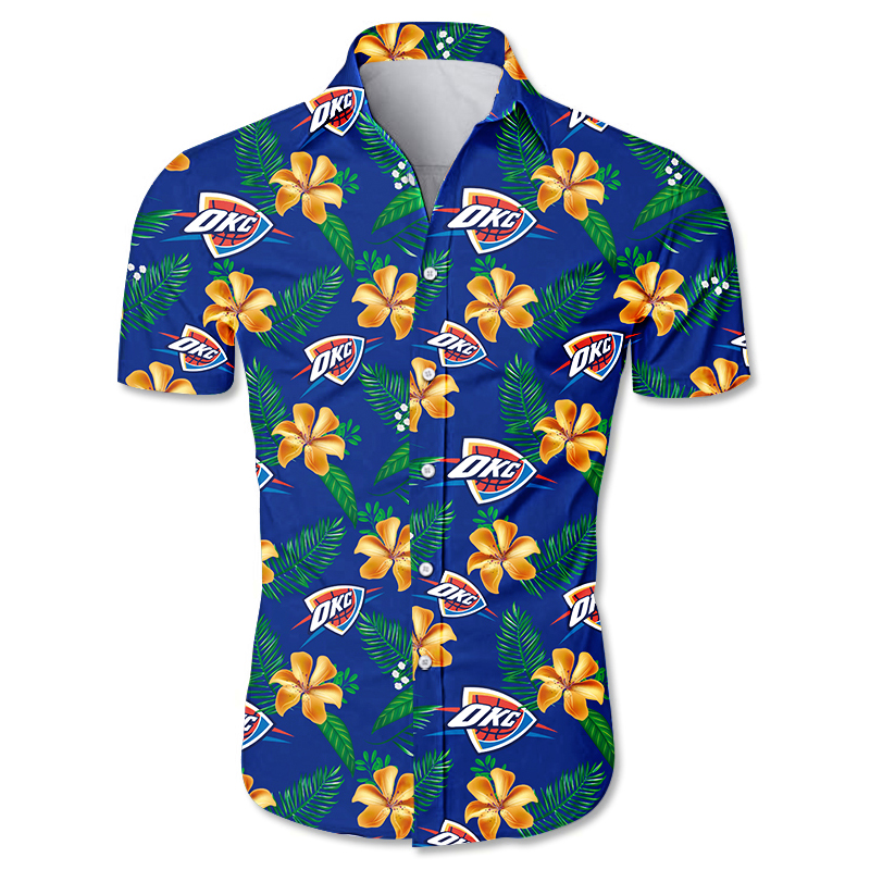 Oklahoma City Thunder Hawaiian shirt