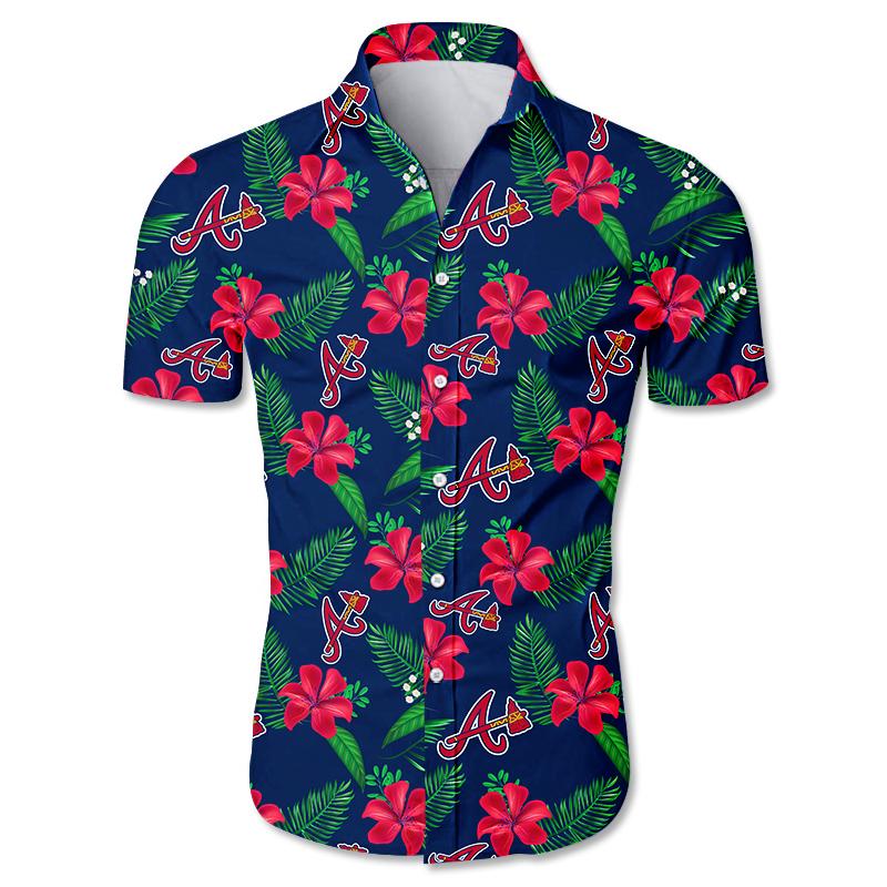 Atlanta Braves Hawaiian shirt