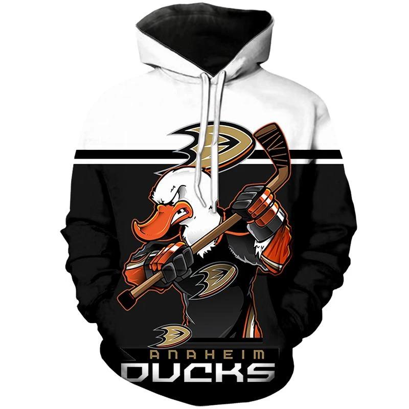 Anaheim Ducks Hoodie Mascot