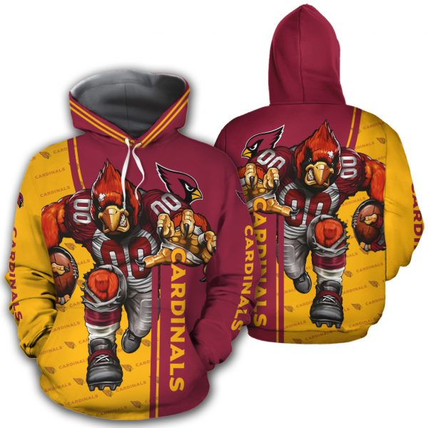 Arizona Cardinals Hoodies Mascot