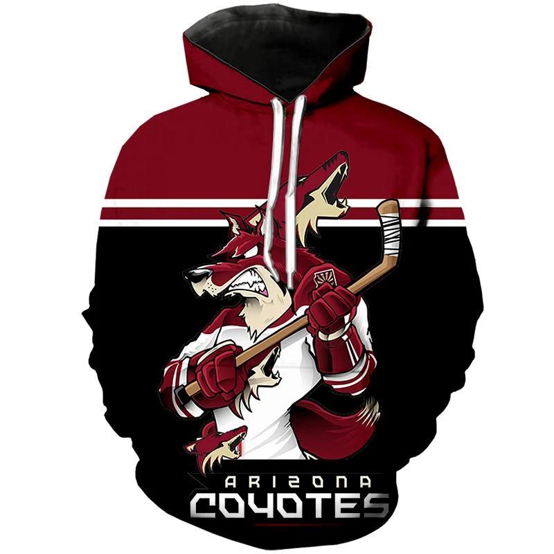 Arizona Coyotes Hoodie Mascot
