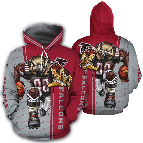 Atlanta Falcons Men's Hoodie Mascot