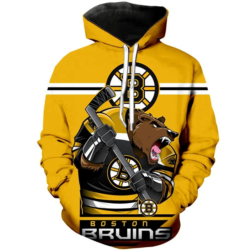 Boston Bruins Hoodies Mascot