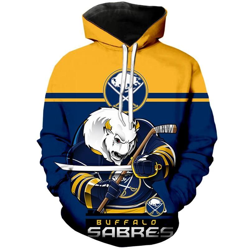 Buffalo Sabres Hoodie Mascot