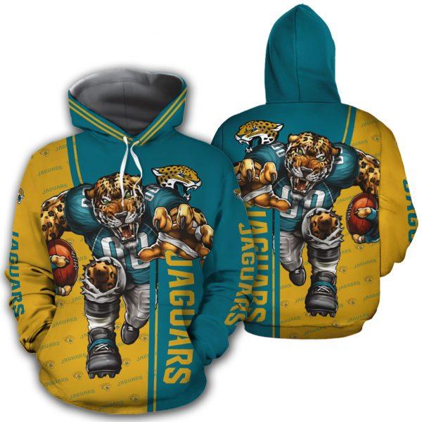 Jacksonville Jaguars Hoodie Mascot