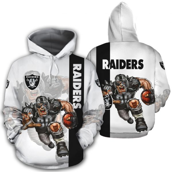 Oakland Raiders Hoodies Mascot