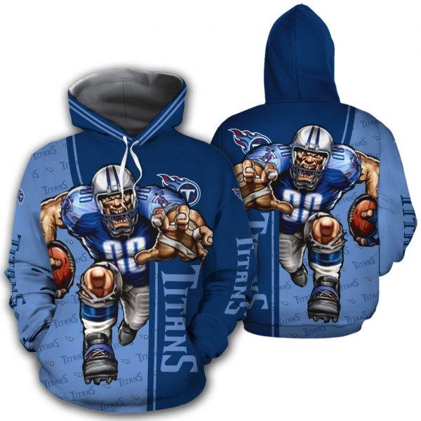 Tennessee Titans Hoodie Mascot