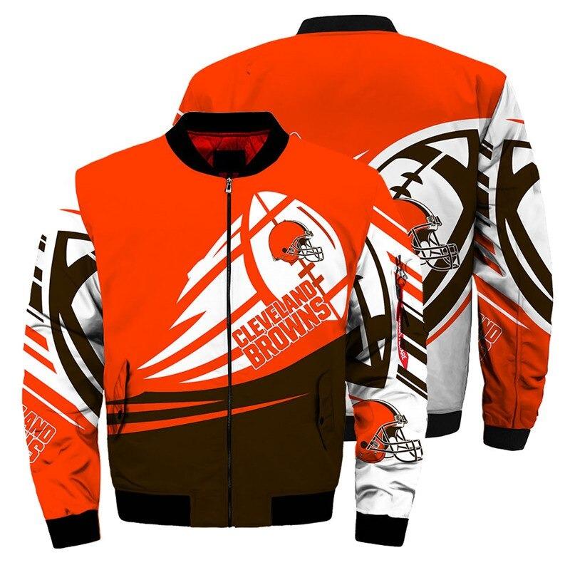 Cleveland Browns Bomber Jacket
