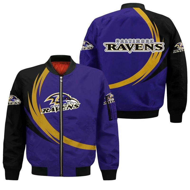 Baltimore Ravens Bomber Jacket