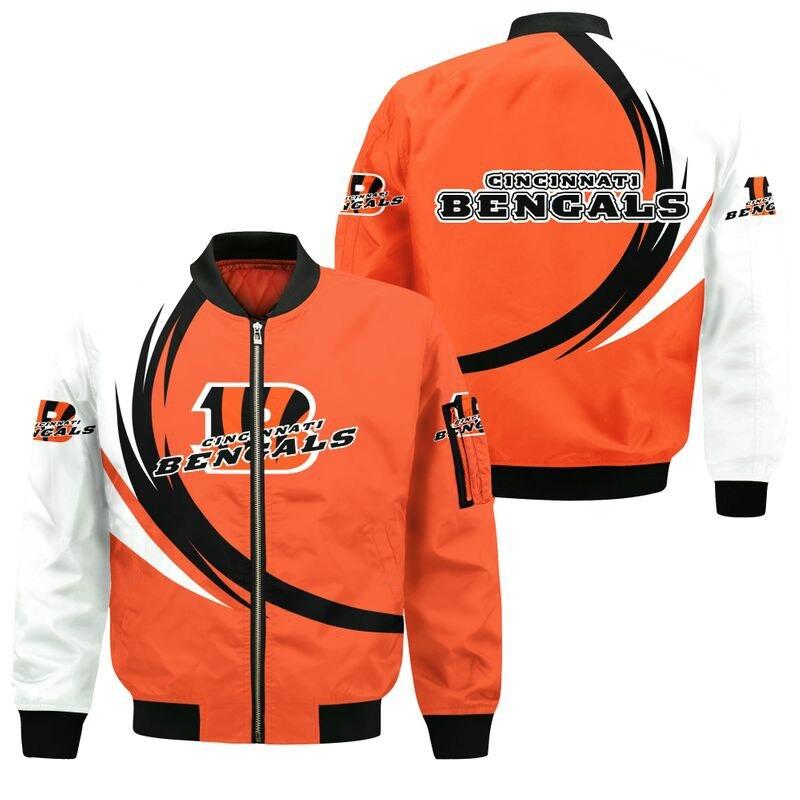 Cincinnati Bengals Bomber Jacket