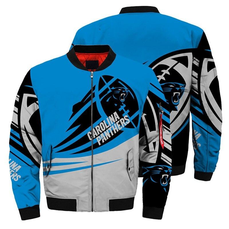 Carolina Panthers Bomber Jacket