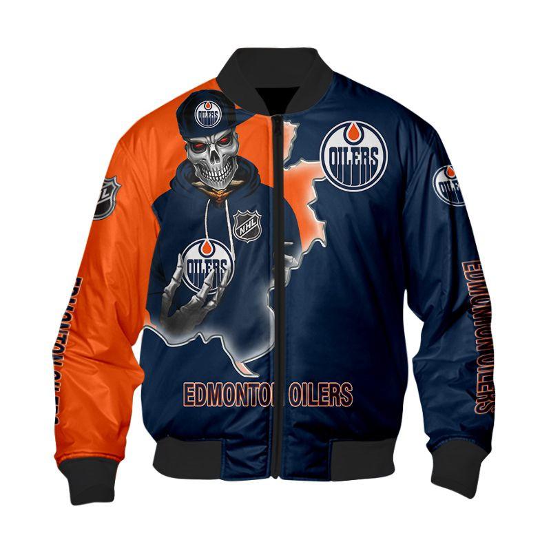 Edmonton Oilers Jacket