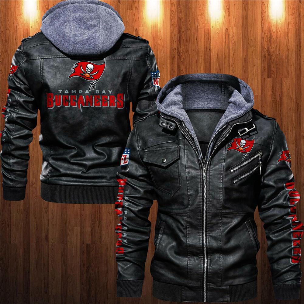 Tampa Bay Buccaneers Leather Jacket