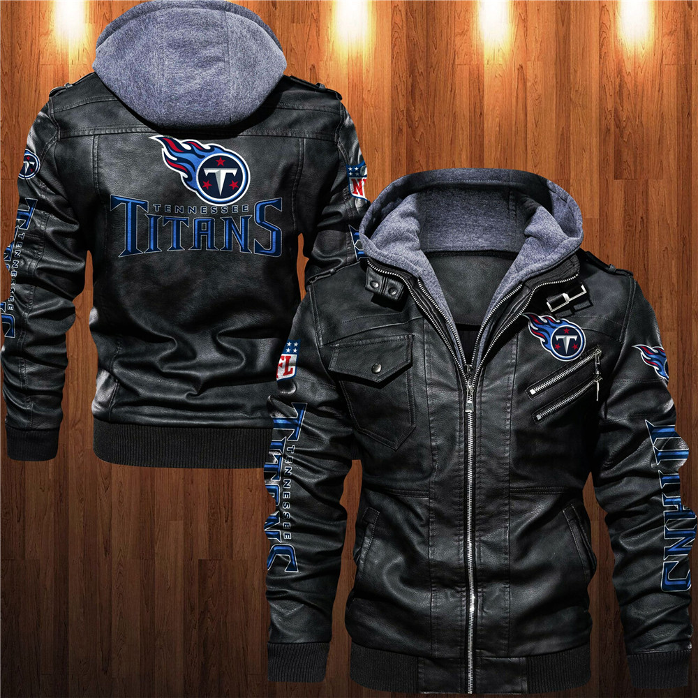 Tennessee Titans Leather Jacket