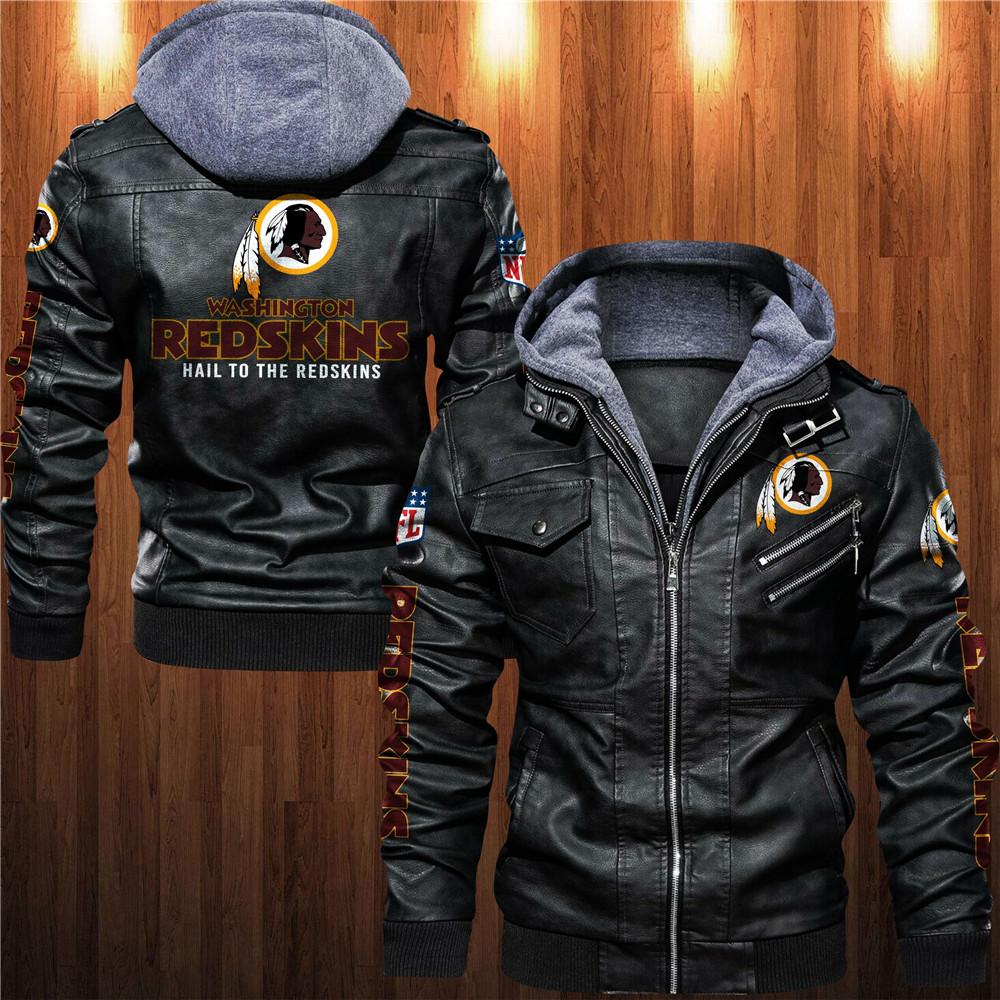 Washington Football Team Leather Jacket
