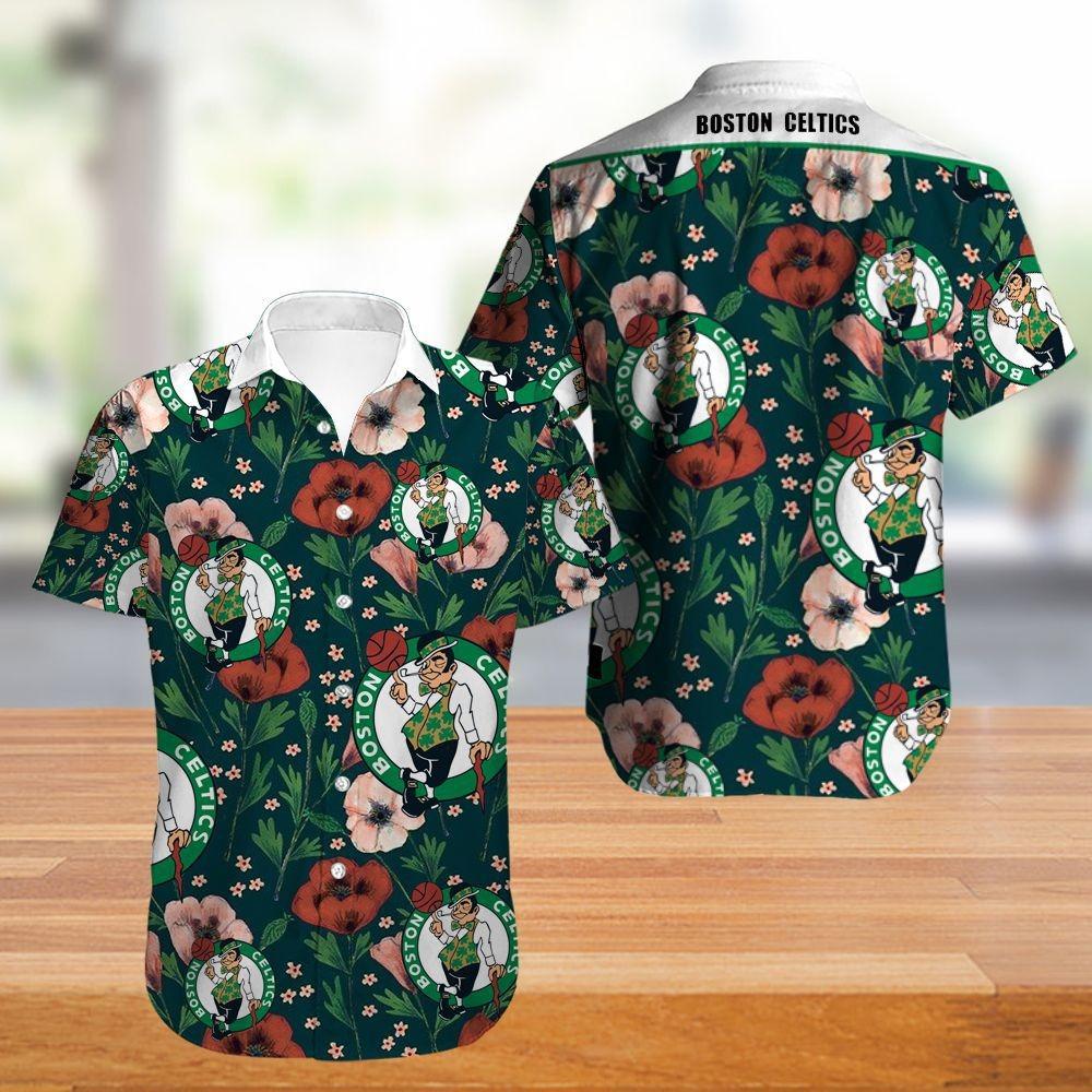 Boston Celtics Hawaiian Shirt